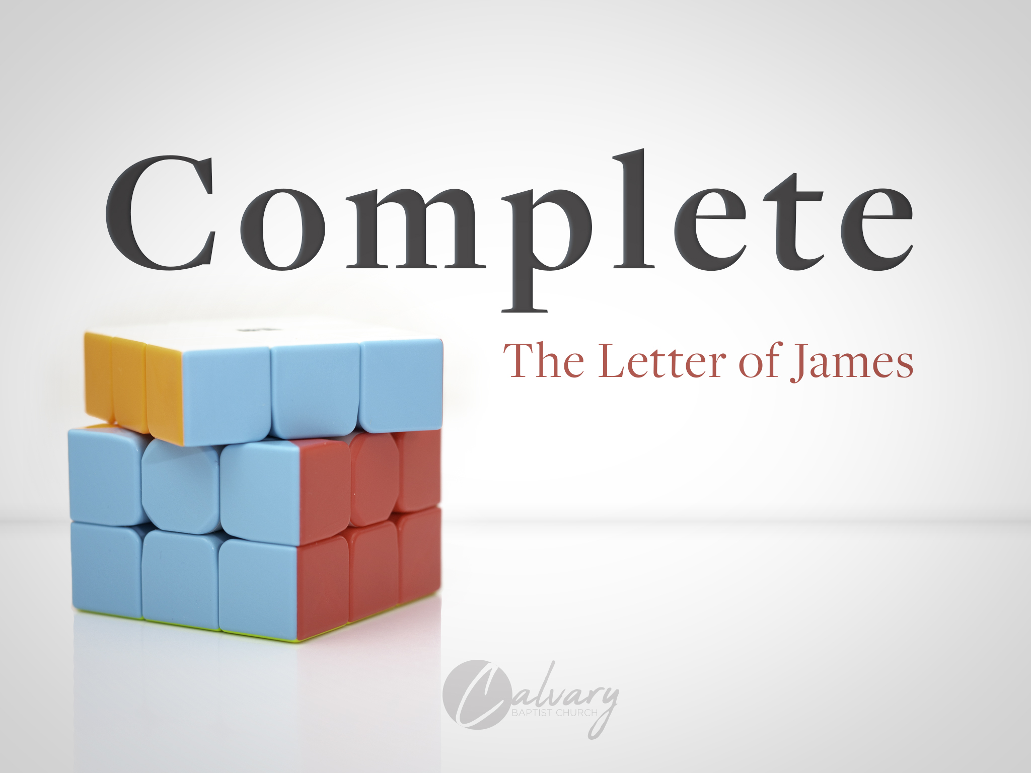 Complete: The Letter of James - Looking to grow to full maturity in Christ? Or just wondering if, in a world full of suffering, Jesus' ways are really as good as he claims they are? The letter of James was written to growing Christians in hard times to sand off their rough edges and grow them to full, fruit-bearing maturity in following Jesus. It can do the same for you.