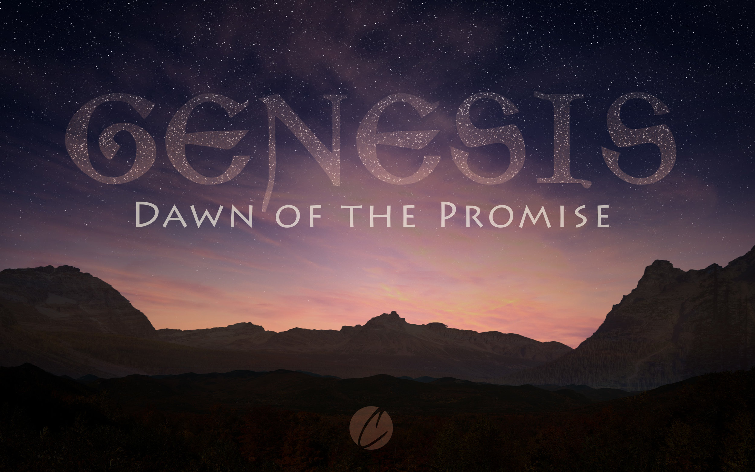 Genesis: Dawn of the Promise - Right now we're walking through the foundational truths of Genesis 1-2 and tracing how they unfold through the rest of the Bible. Later this year we hope to start with Chapter 3 and walk through the stories of Genesis.