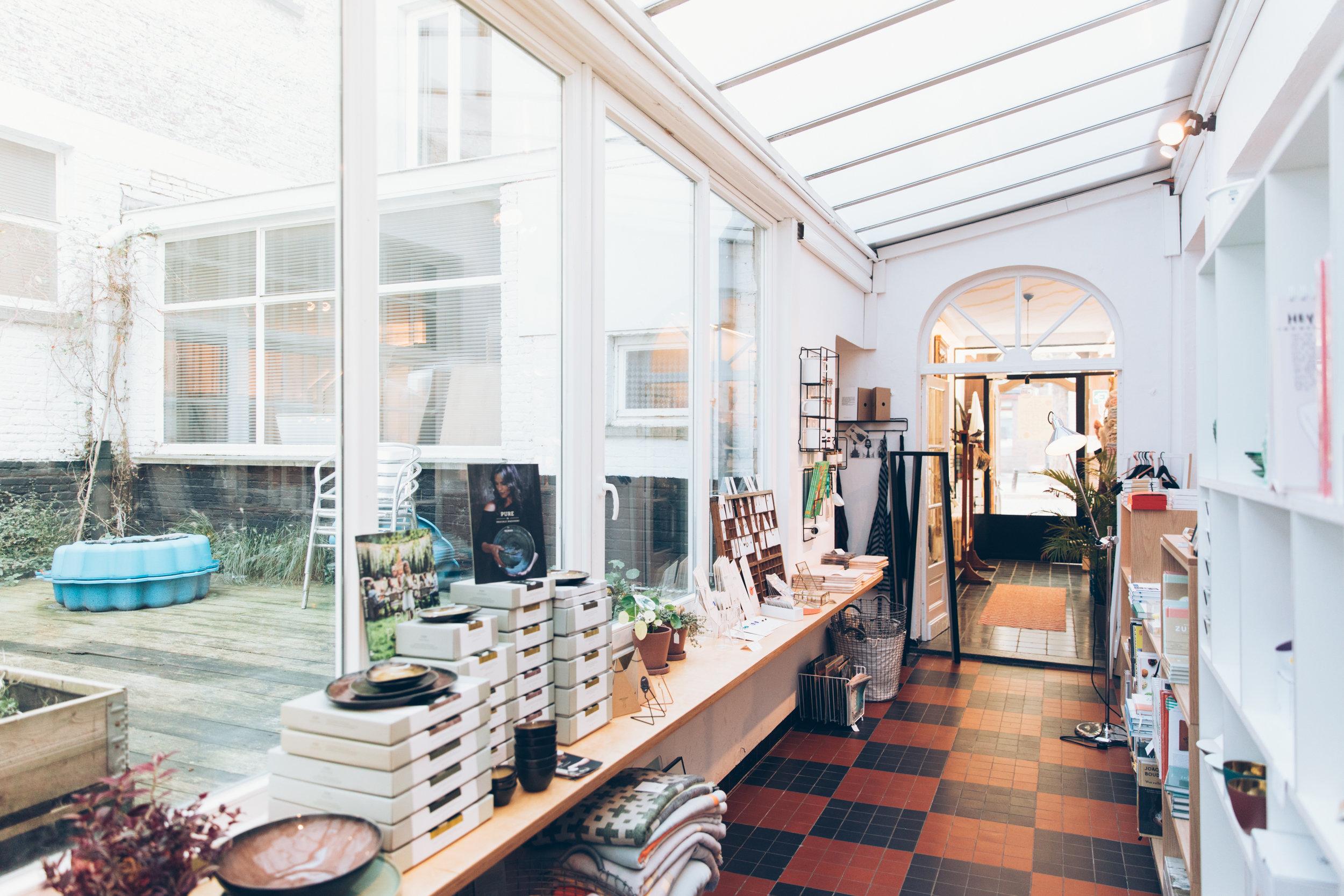 L'amuzette: B&B, foodbar en concept store