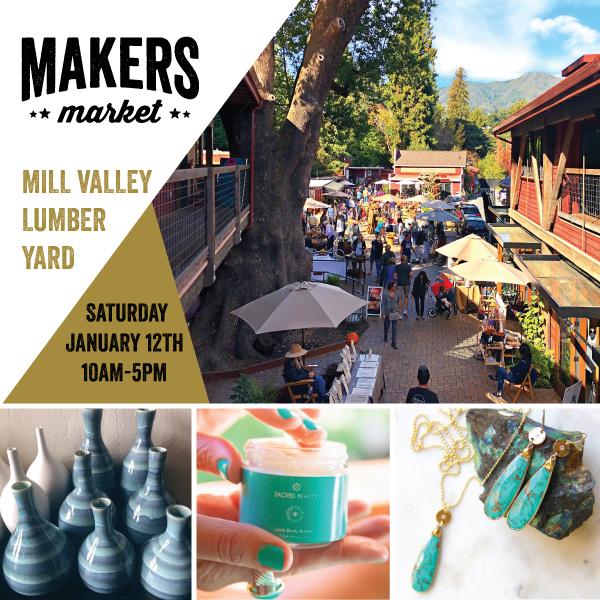Makers Market Mill Valley Lumber Yard