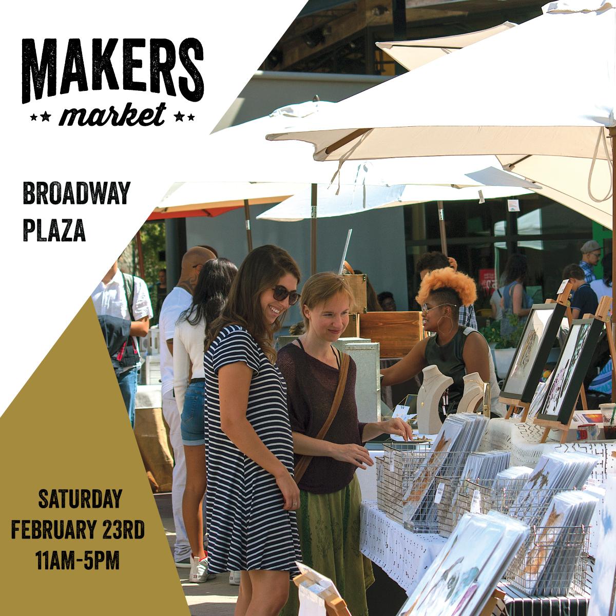 Makers Market Broadway Plaza Walnut Creek