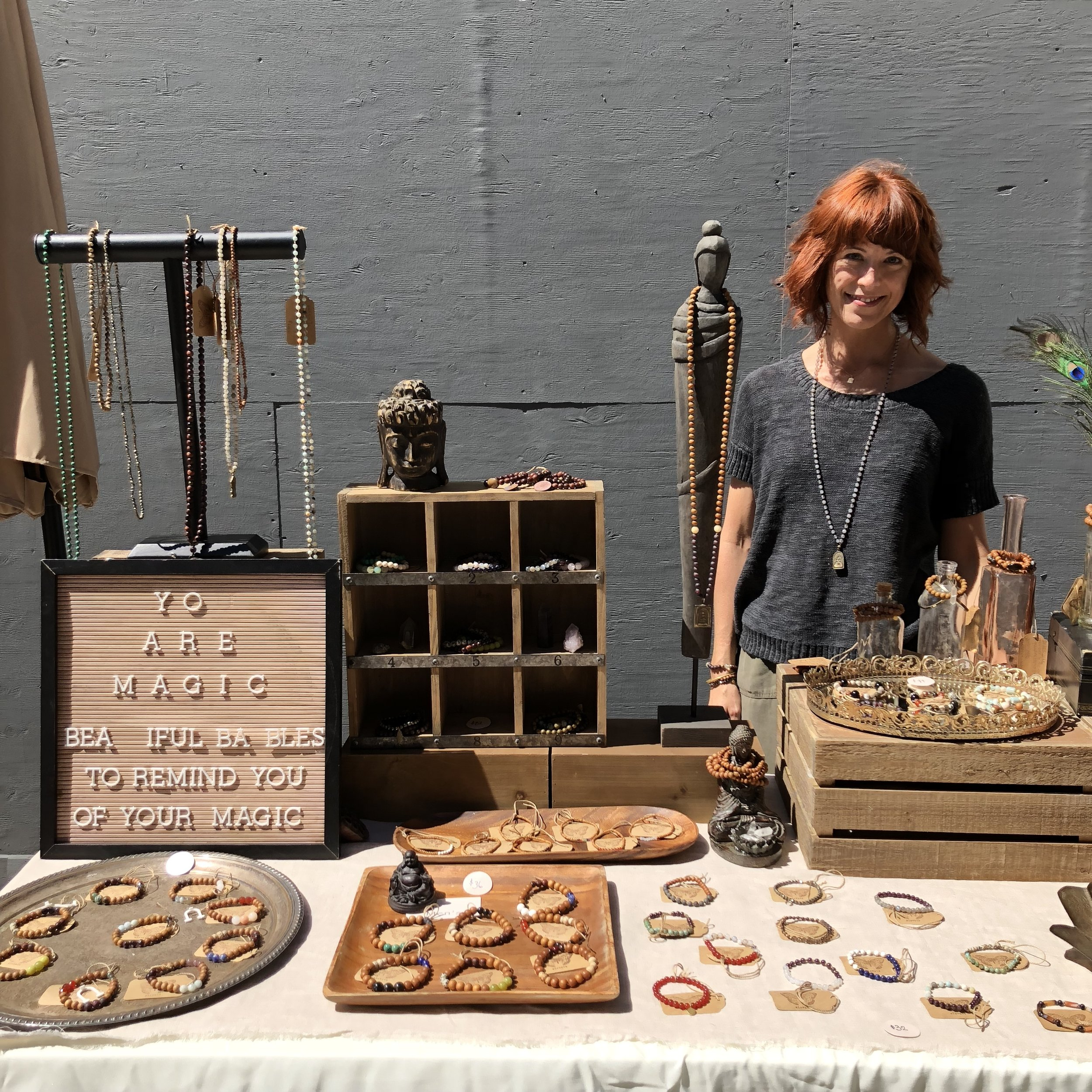 Dawn Hoppe - Yoga Instructor, Creator of Elevate Magic Jewelry