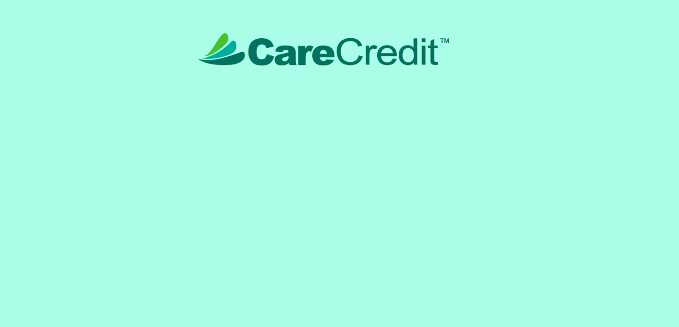 We accept care credit at our Crossville and Knoxville dental offices.