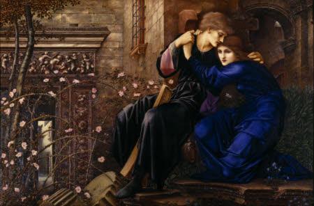Love Among The Ruins - by Edward Burne-Jones