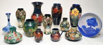Moorcroft miniatures