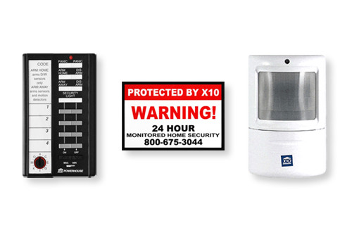 X10 Security System -