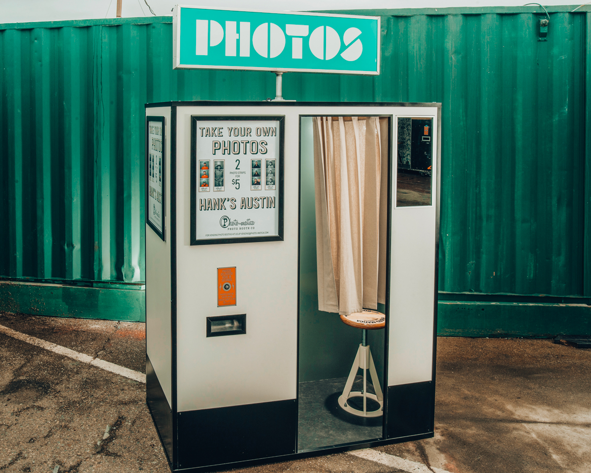 We build custom photo booths to fit perfectly into their surroundings