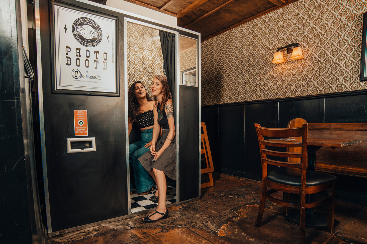 Let your customers do your marketing for you by posting their photo booth pics