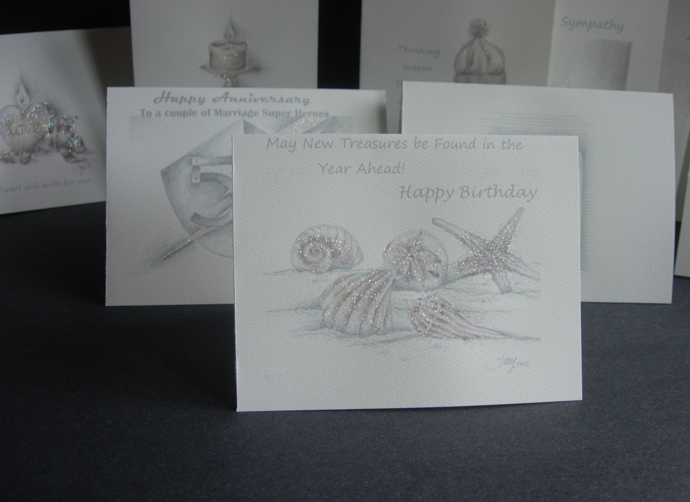 Cards with matching envelopes - Sending cards isn't a lost art, It means something to know that you took time to sit and write out a message.