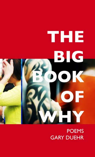 THE BIG BOOK OF WHY - As Marx queried, What is to be done?In poems that range from melancholic to mocking,THE BIG BOOK OF WHY tries to answer some of the 21st century's looming questions by rummaging through cultural detritus for clues.Weighing in are a Detroit body-bagger, Robert DeNiro's housekeeper, and Adela Legaretta Rivas,