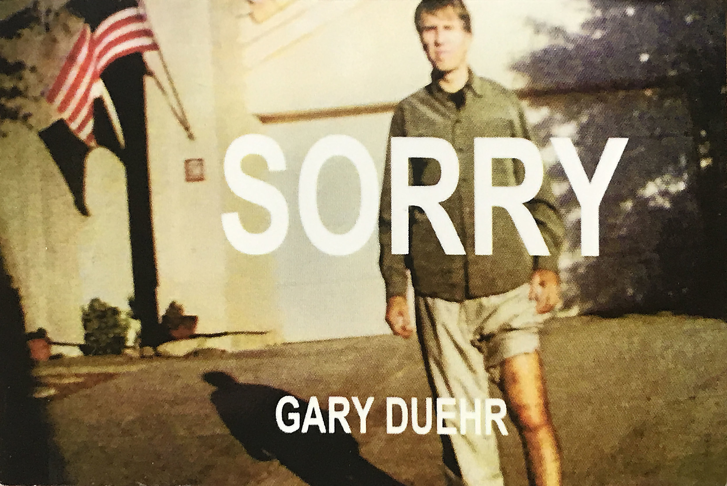 SORRY - Filled with comic remorse, the anti-hero in these poetic apologies tries to come clean for almost everything: Las Vegas, modern art, partying, the millennium, nostalgia—not to mention books, happiness, politics, and even sleeping.20 pages, 2.5 x 3.5