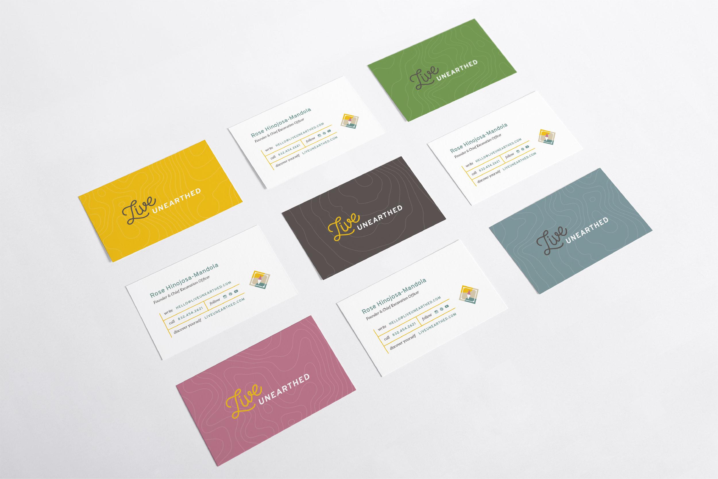 LynseyCreative_LiveUnearthed_Portfolio_businesscards.jpg