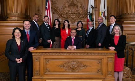 2019 SF Board of Supervisors