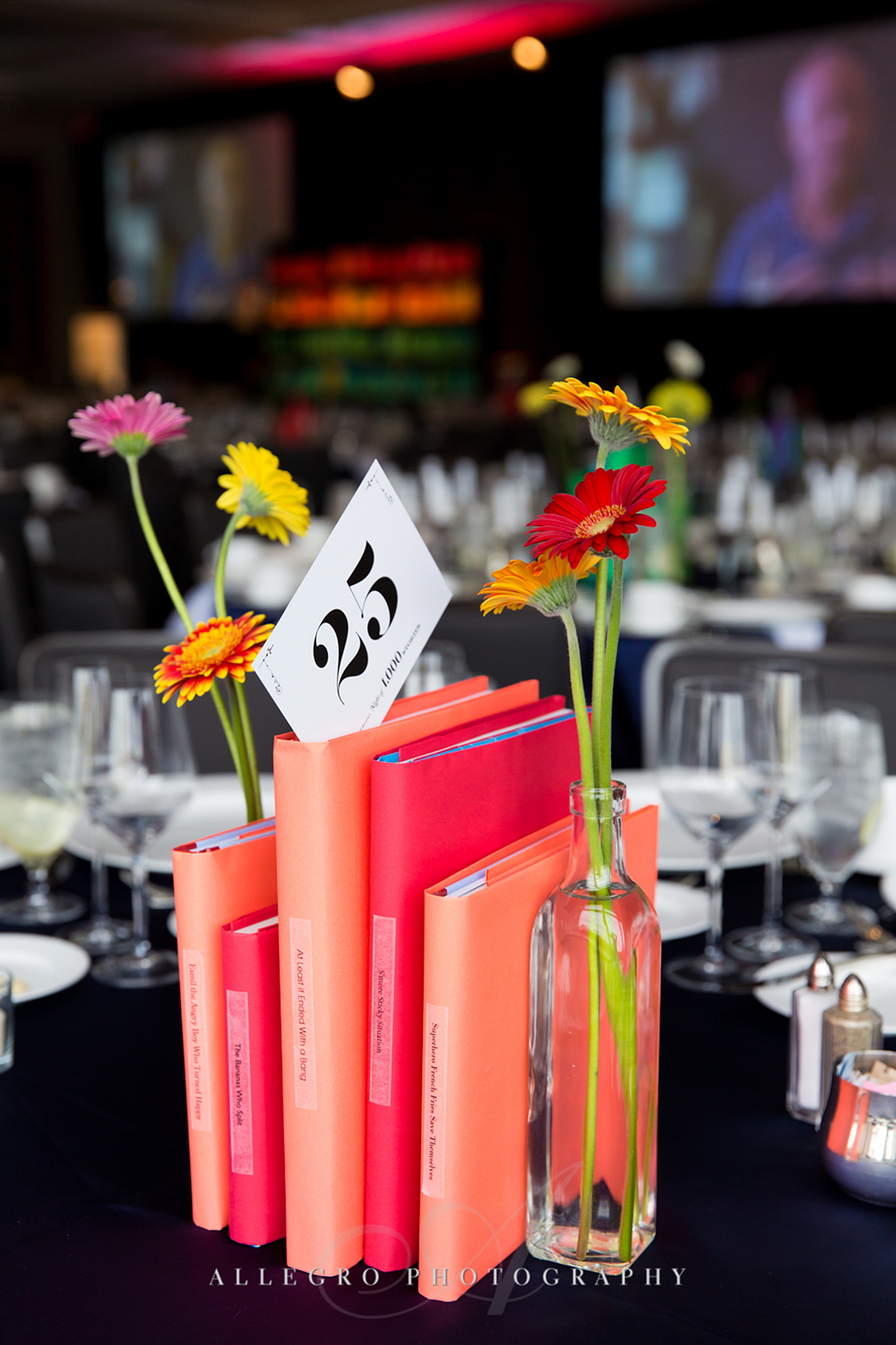 03_826 Gala Pink Floral Centerpiece Books_AE Events.jpg