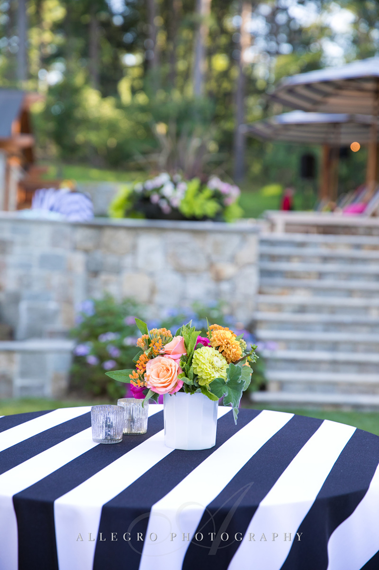 02_Private Engagement Party Black and White Table_AE Events.jpg