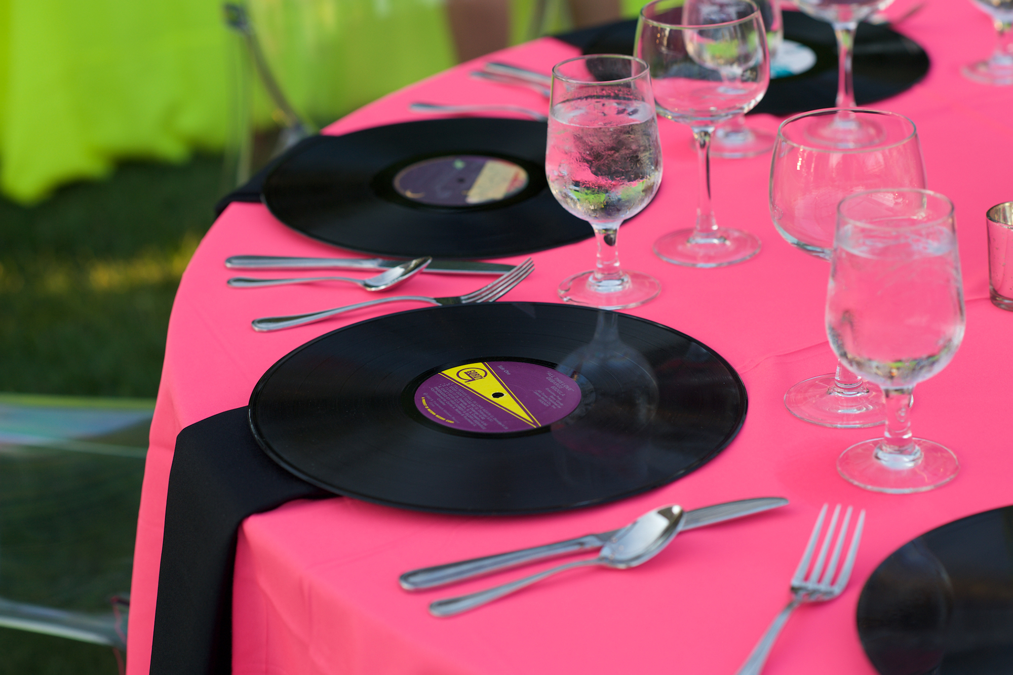 05_Birthday Party 80s Theme Records Table_AE Events.jpg