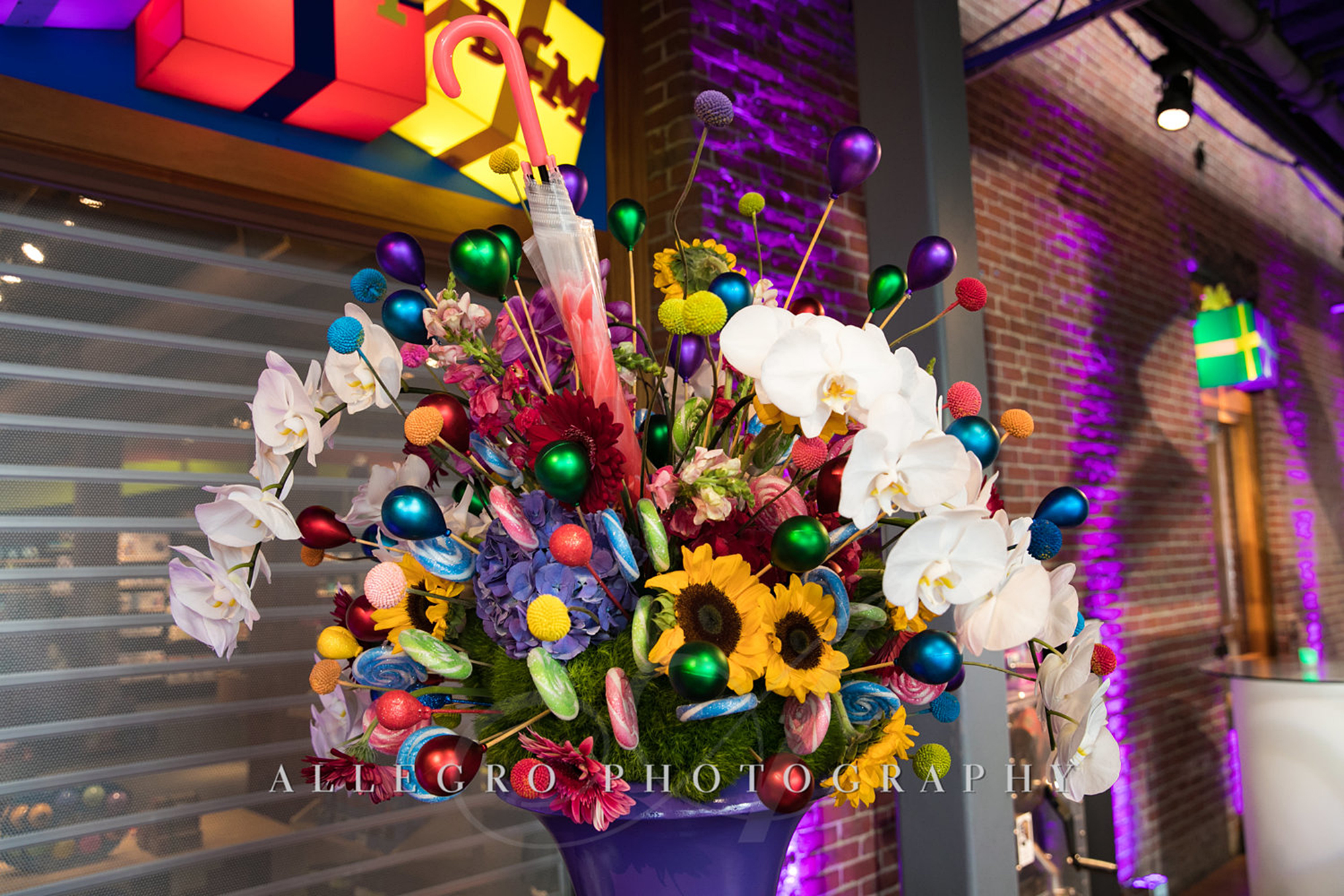 04_Corporate Willy Wonka Event Floral_AE Events.jpg