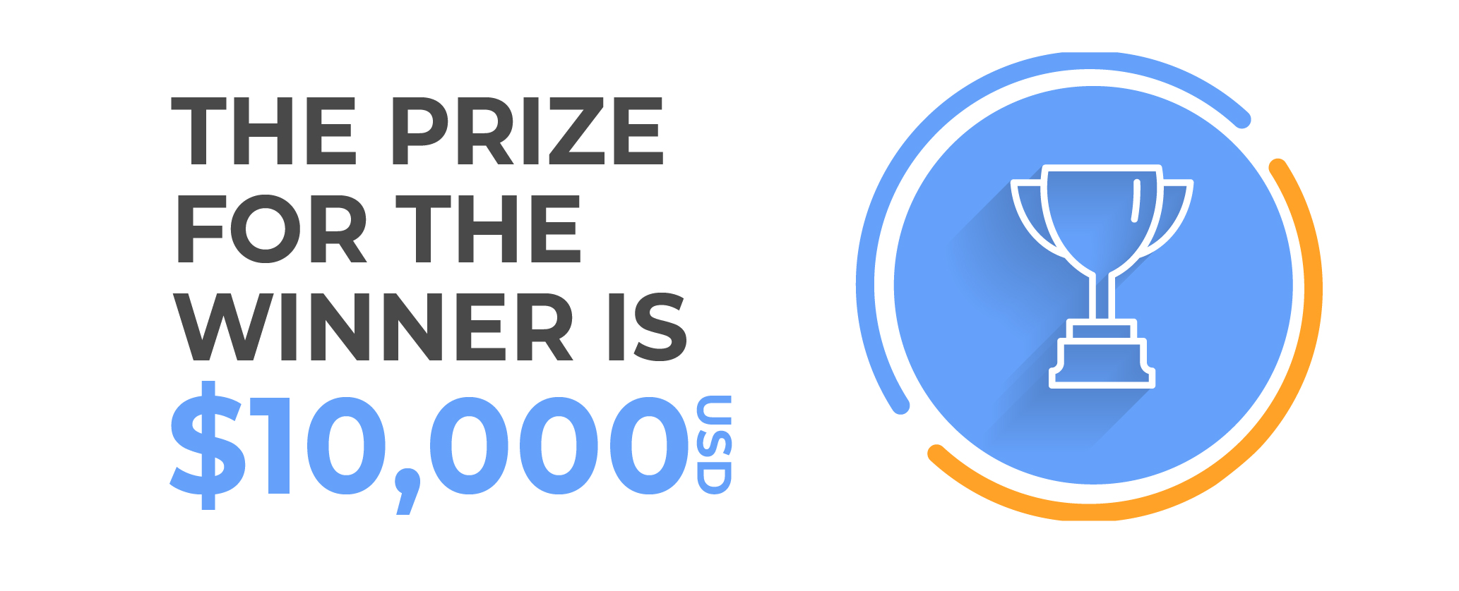 Prize of 10000 usd for the competition winners