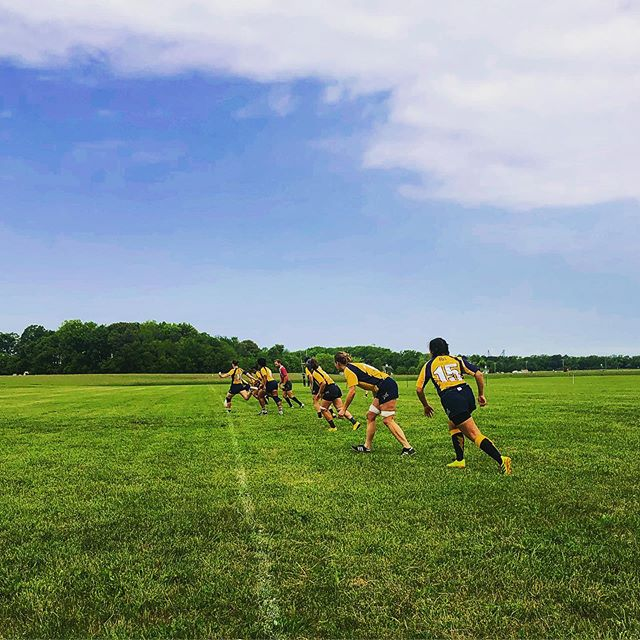 Saturday is a rugby day. #sonofbeaches #rugby
