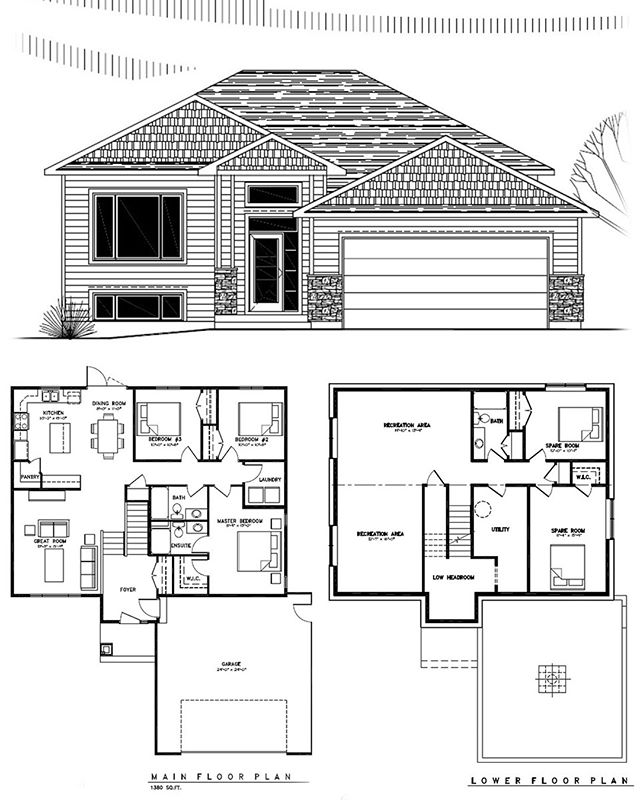 8 Kurelek Crescent, Stonewall  3 BEDROOM · 2 BATH · 1380 SQFT |  LIST PRICE $384,900 Absolutely STUNNING custom-built bungalow on a super quiet street in Stonewall! Located only 20 mins to Wpg, this BRAND NEW 3 bedroom home is perfect for the growing family & is loaded w/upgrades! As you enter the home, you are greeted by a large drop foyer w/ample closets, access to the 24'x24' dbl attached garage, a fabulous open concept floor plan incl: 12mm laminate flooring, 9ft ceilings, pot lights, & loads of windows that let in a ton of natural light. The main floor also boasts a large dining area w/garden door to the back yard, a modern & functional kitchen w/corner pantry, 5ft island w/breakfast lip, peninsula, soft close drawers & tons of counter space! The great room is the perfect size! Down the hall you will find a main flr laundry, 4-pc bathroom w/acrylic tub surround, & 3 large bedrooms incl the master bedroom w/walk-in closet & full ensuite bath! This home was built w/the best materials to date incl: piled full height concrete foundation, high-eff furnace, HRV, sump pump & much more!  James Boschman 204-330-0019 (cell) Royal LePage Prime Real Estate  #getwhatyouwant #connectionhomes #theboschmanteam #motivatedtomoveyou #boschythebison #houses #houses #builder #builders #boom #winnipegrealestate #winnipegrealtor #winnipegrealtors #winnipeg #manitoba #boschman #royallepage #royallepagecanada #winnipegbusiness #manitobarealestate #realestate #realtor #realtorlife #realestateagent #realestatelife