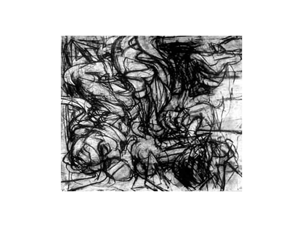 Reclining Figure with Imagined Drapery