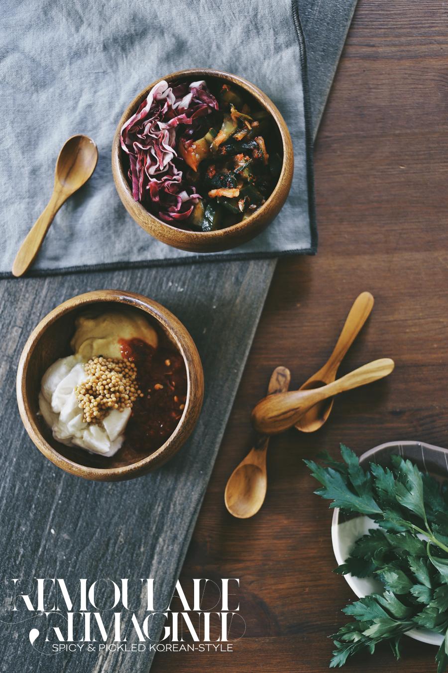 Korean Style Shrimp Remoulade Recipe | Dine X Design