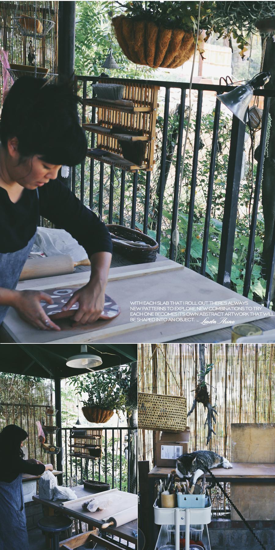 Knotwork LA | Linda Hsiao Studio Visit | Dine X Design