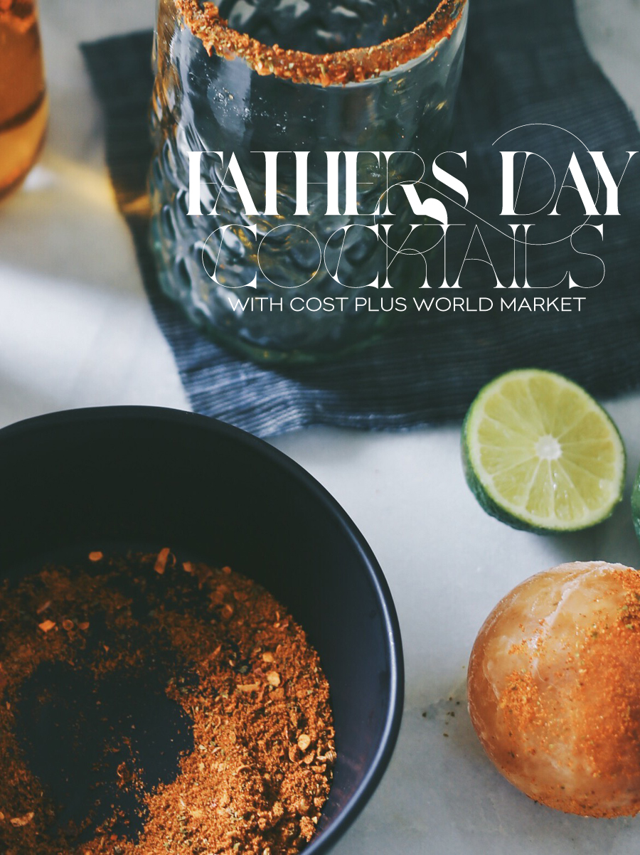 Fathers Day Cocktails | Dine X Design