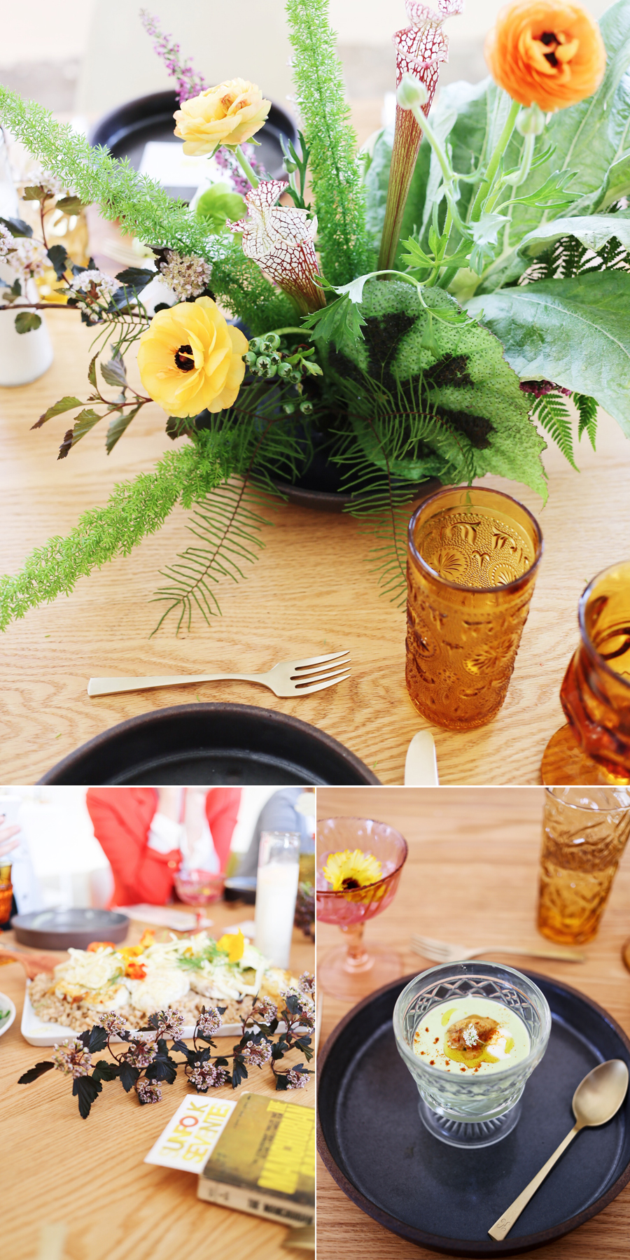 Filigree Suppers | Sunfolk Seventies | Moon Canyon Florals | Dine X Design