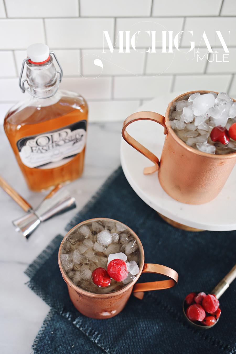 Michigan Mule Cocktail | Dine X Design