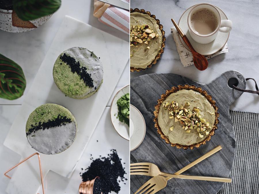 Matcha Tea Cakes | Avocado Cheesecake | Kristin Guy HGTV | Dine X Design