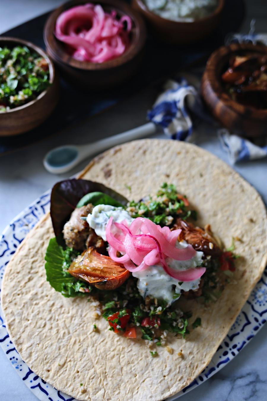 Grilled Chicken Souvlaki Recipe   Dine X Design