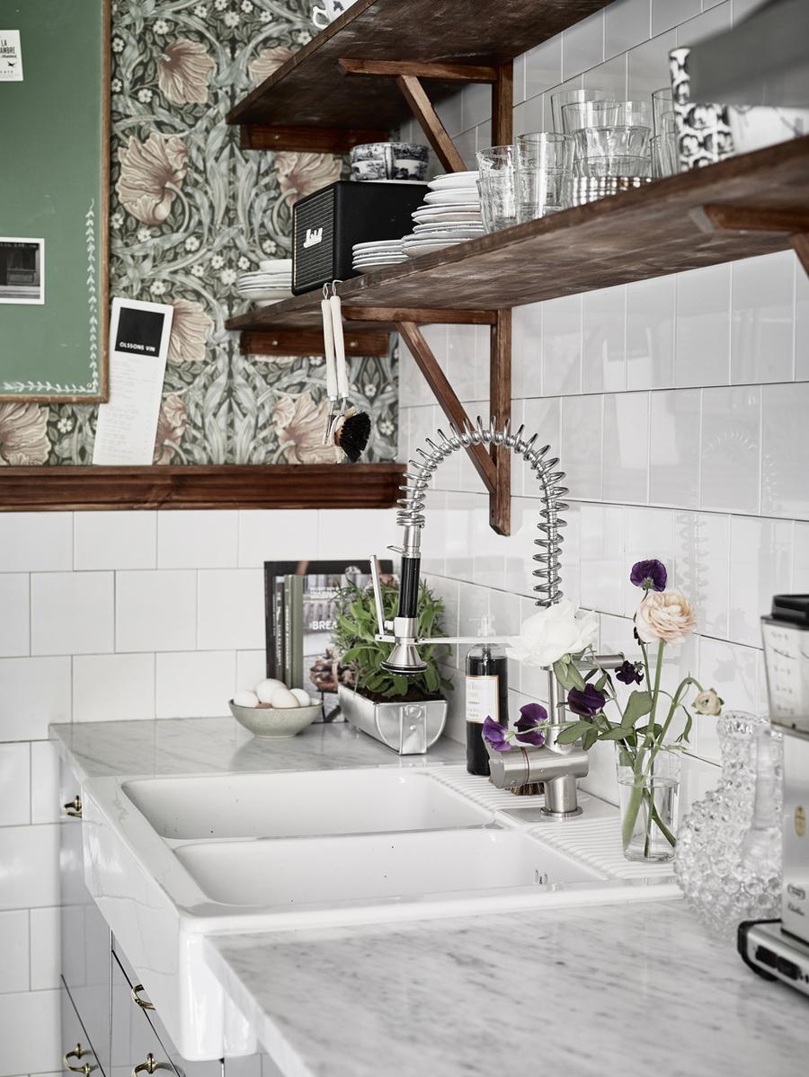 Industrial Romance Kitchen Detail | Dine X Design