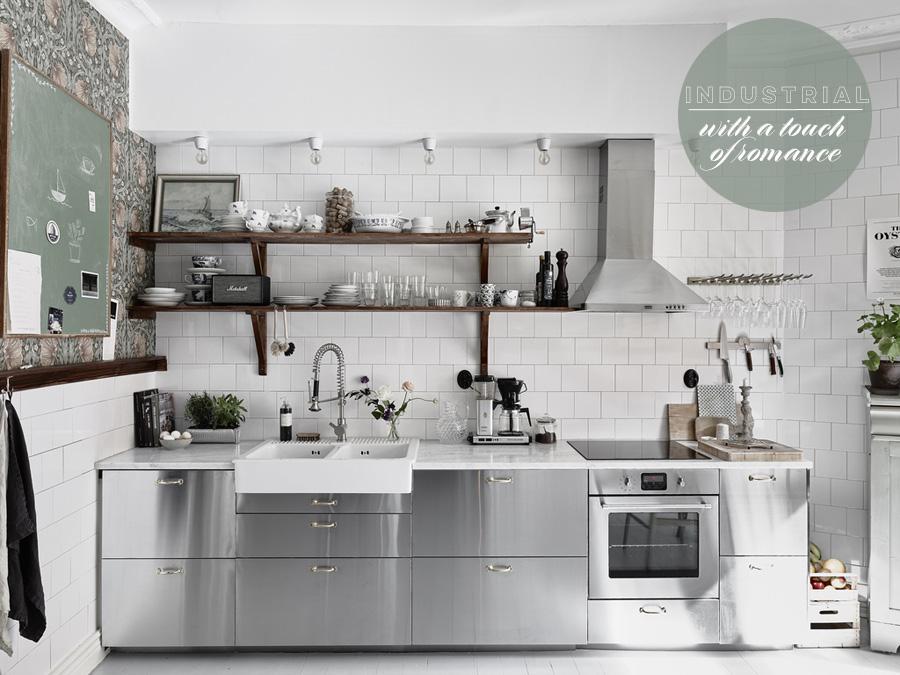 Industrial Romance Kitchen | Dine X Design