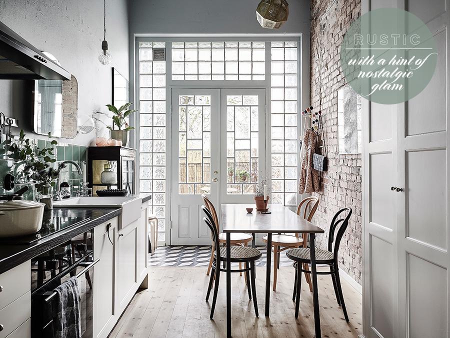 Rustic Glam Kitchen Inspiration | Dine X Design