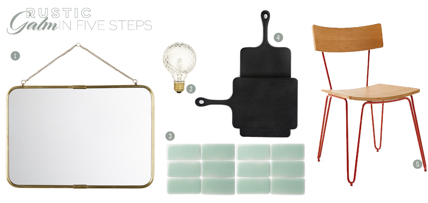 Rustic Glam Style Guide | By Dine X Design
