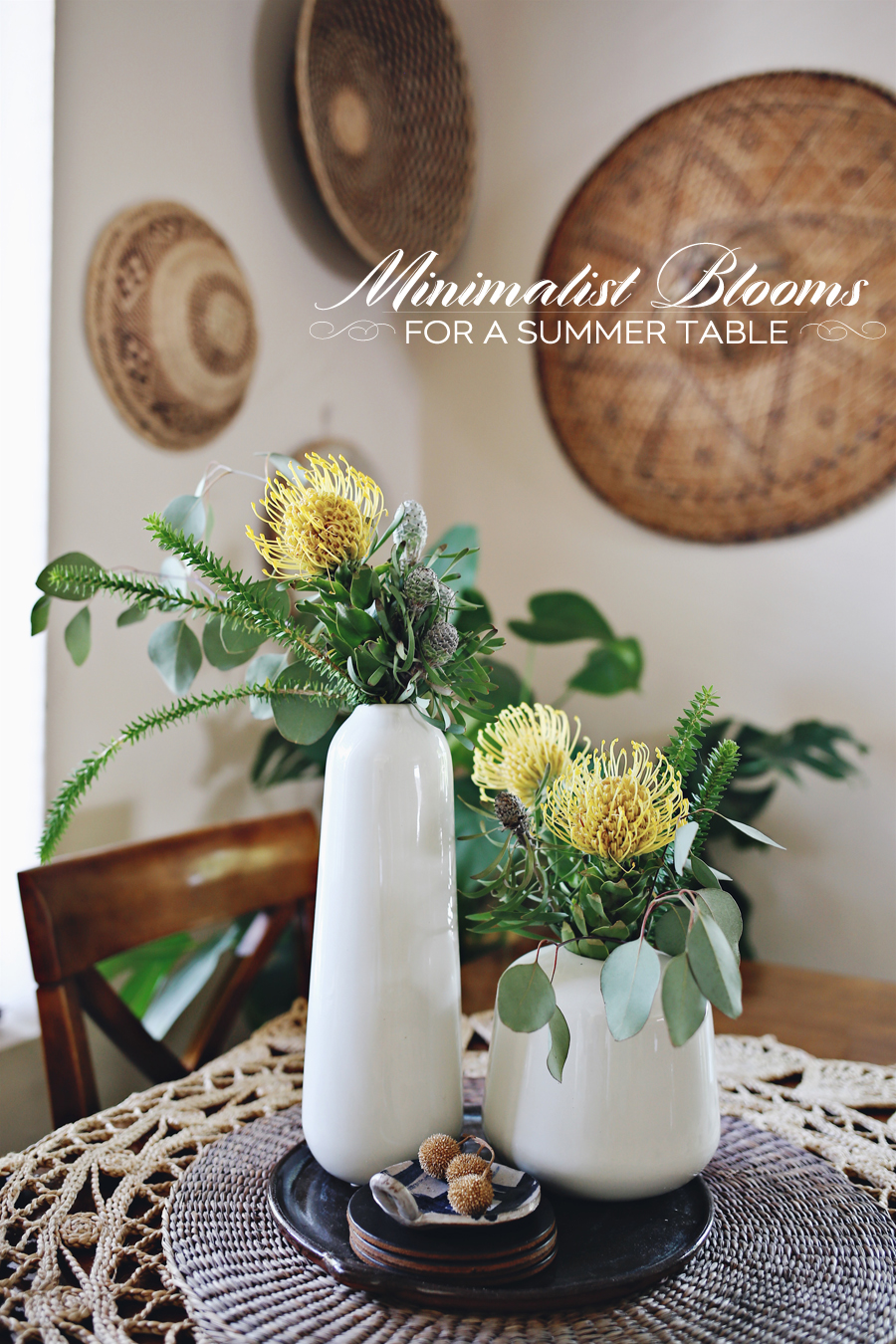 Canvas Home Summer Blooms | Dine X Design