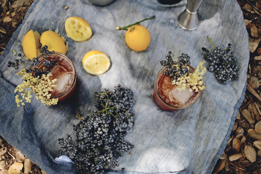 Elderflower Cocktail | Emily Han | Dine X Design