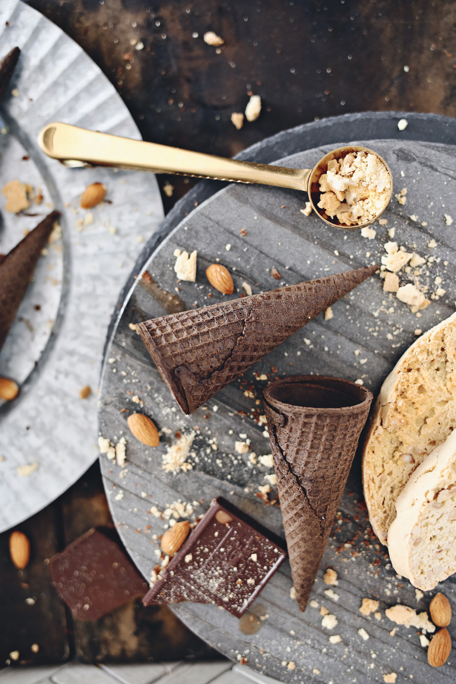 Espresso Almond Biscotti Ice Cream | Dine X Design