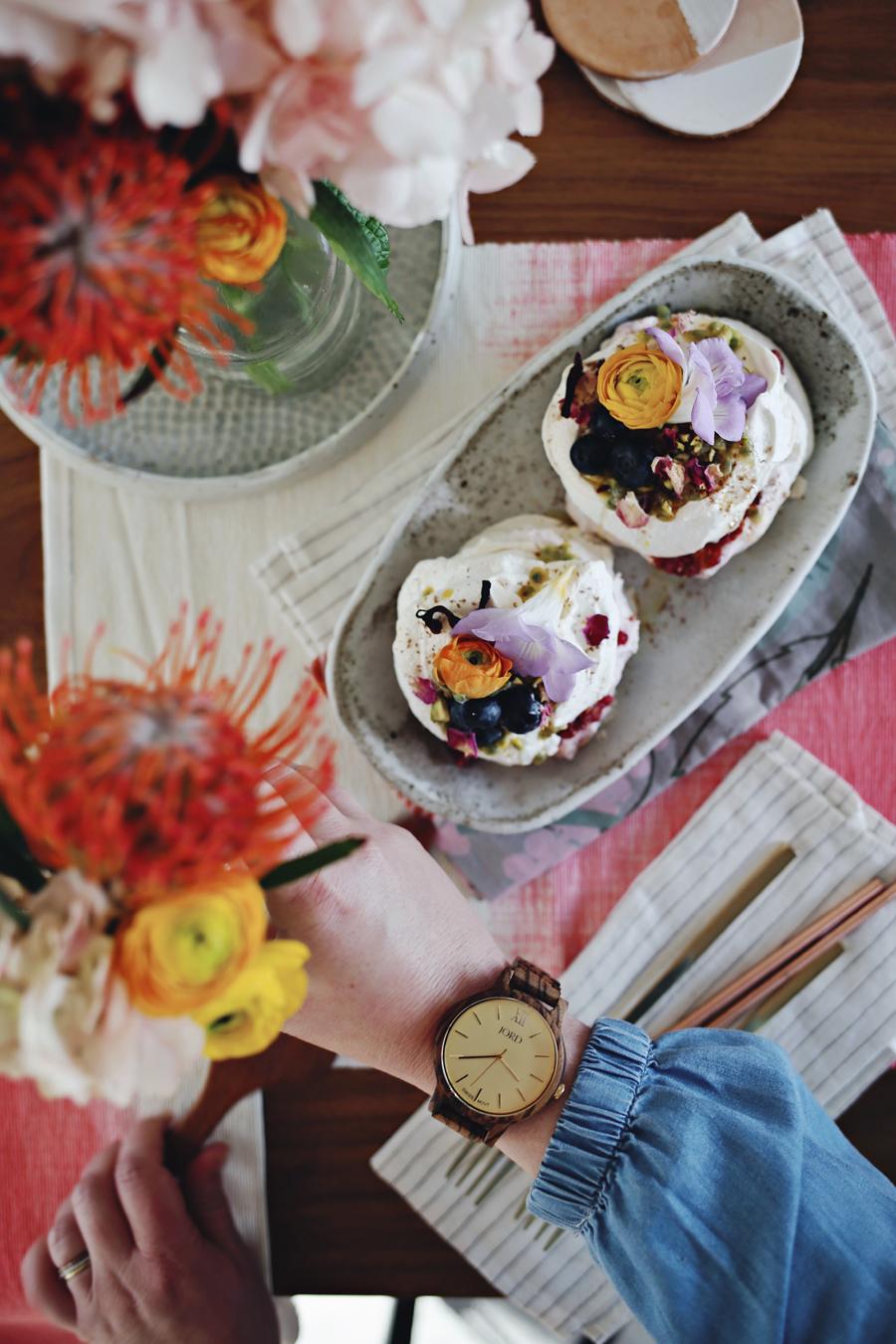 Valentines Day Pavlova Recipe   Dine X Deesign