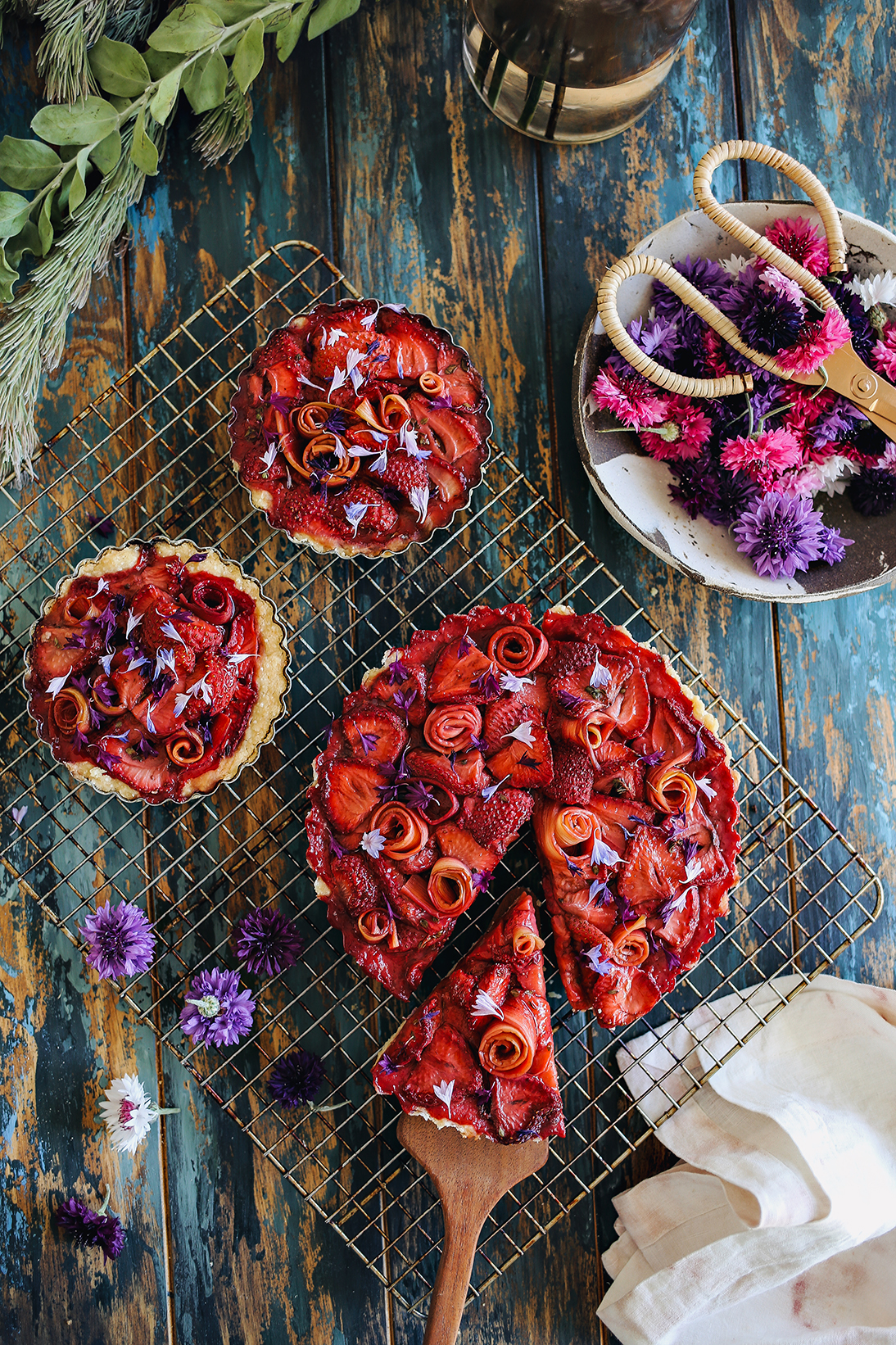 01_Strawberry & Rhubarb Balsamic Tart | Dine X Design.jpg