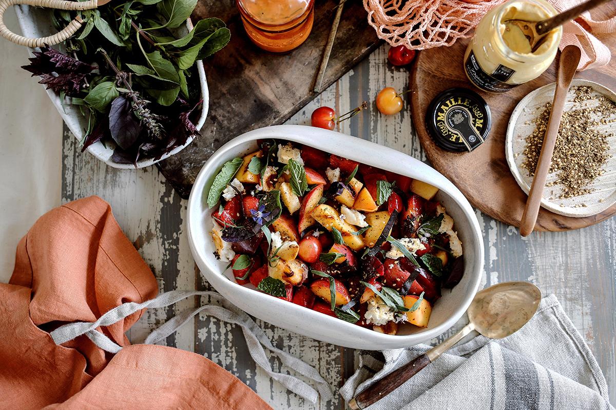 06_Grilled Stone Fruit Salad | Dine X Design.jpg