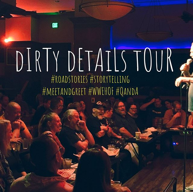 @spaceballroom  Nov 6th Hamden, CT #dirtydetailstour  #storytelling  #meetandgreet  #Q&A  Tickets: Spaceballroom.com Manicpresents.com