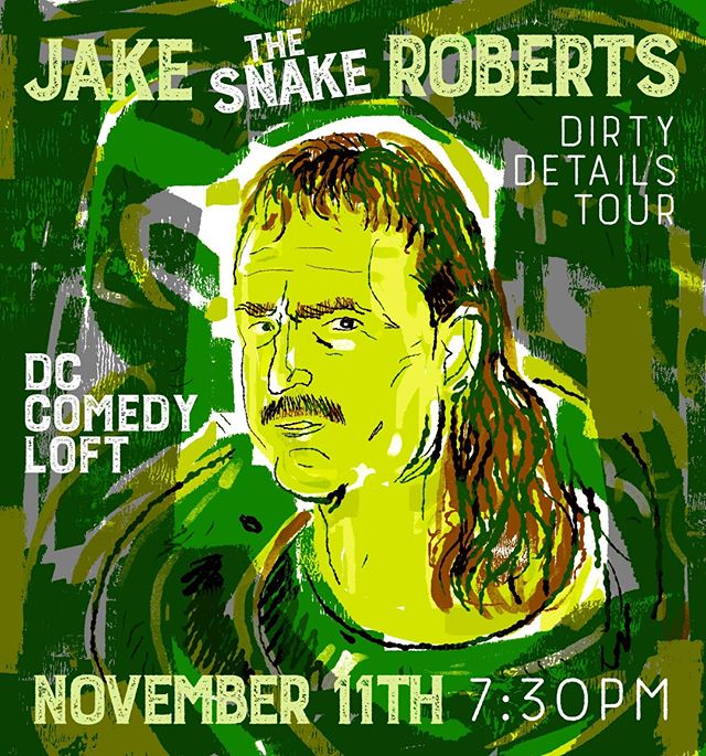 Never know where the 🐍 will show up! #dirtydetailstour #Washington #DC @dccomedyloft @dc_loft the SNAKE is in the building!  Tickets are limited!! https://www.dccomedyloft.com/shows/110405