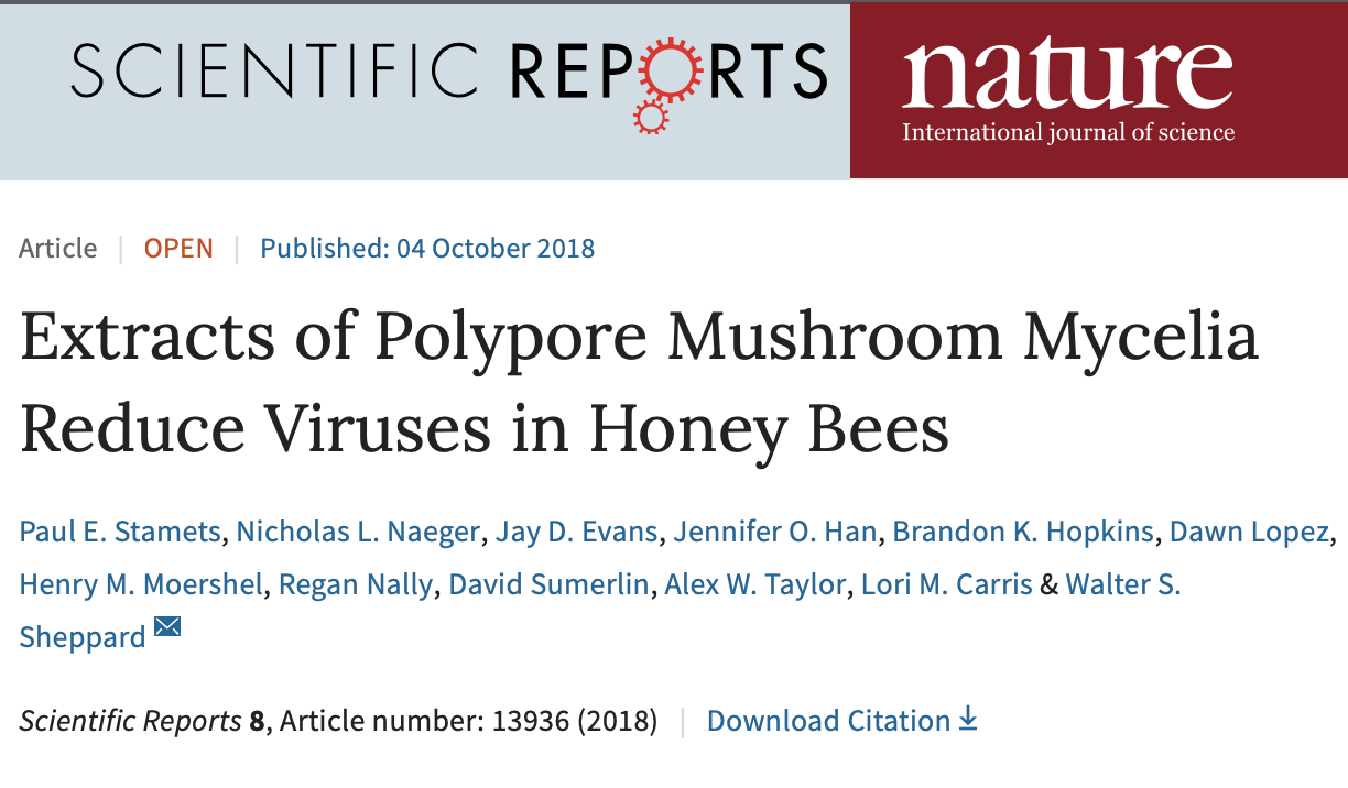 Click the image above for the Nature Scientific Reports article about the extract.