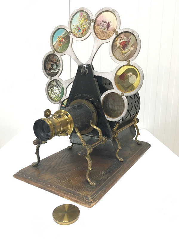 The Pettibone Paragon (Peacock) Magic Lantern Projector, circa 1880