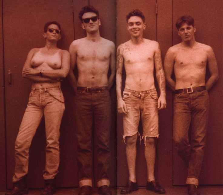 Phranc and The Smiths in 1992