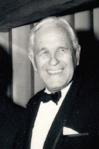 Sir Clifford Plimmer, 1988. Photo: Plimmer Collection