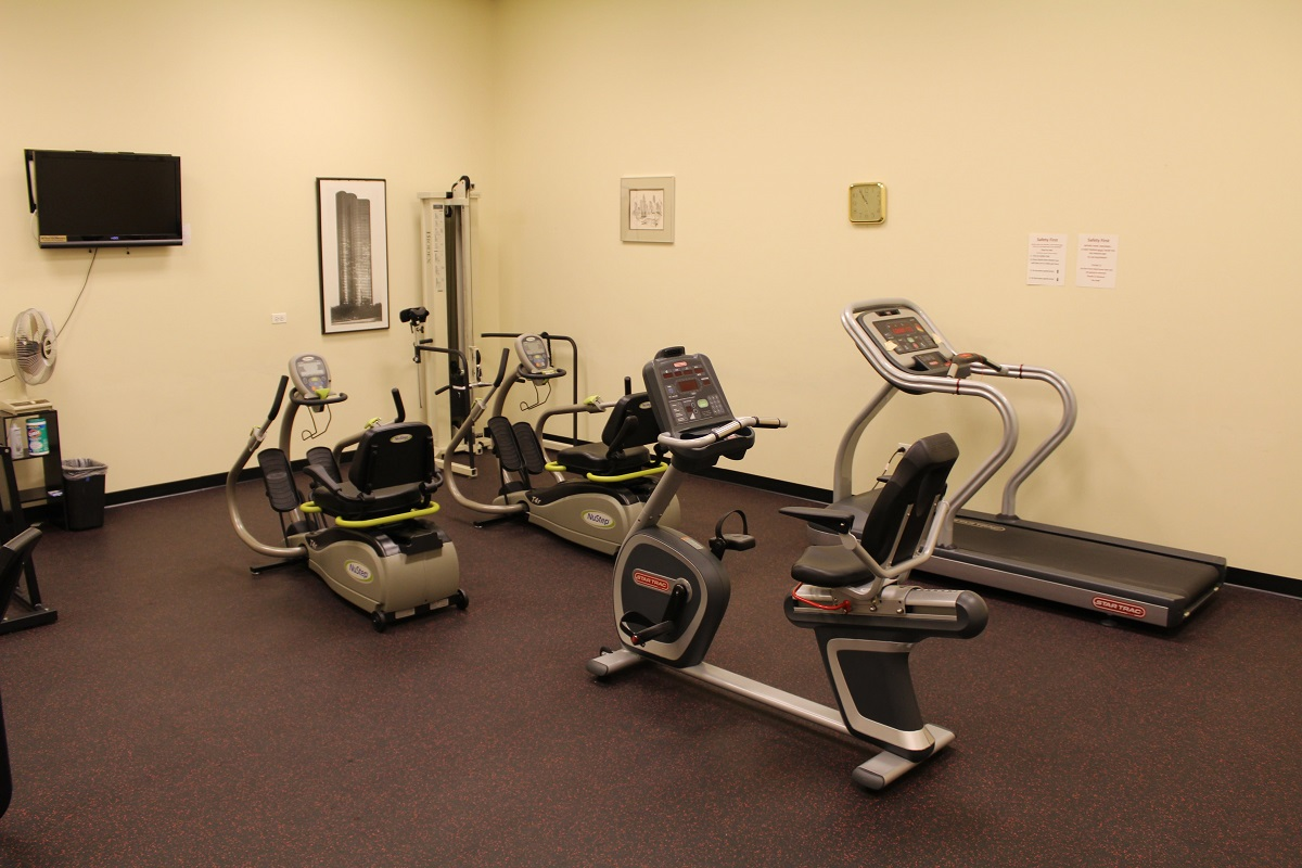 Frisbie Senior Center Exercise Fitness Facility 1