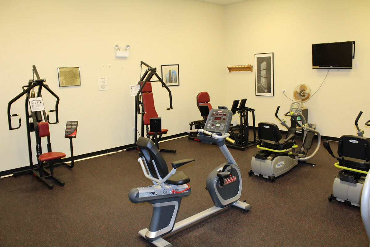 Frisbie Senior Center Exercise Fitness Facility 2